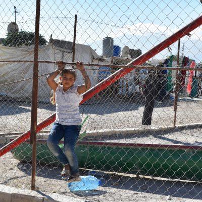Pakolaisleirillä Bekaan laaksossa